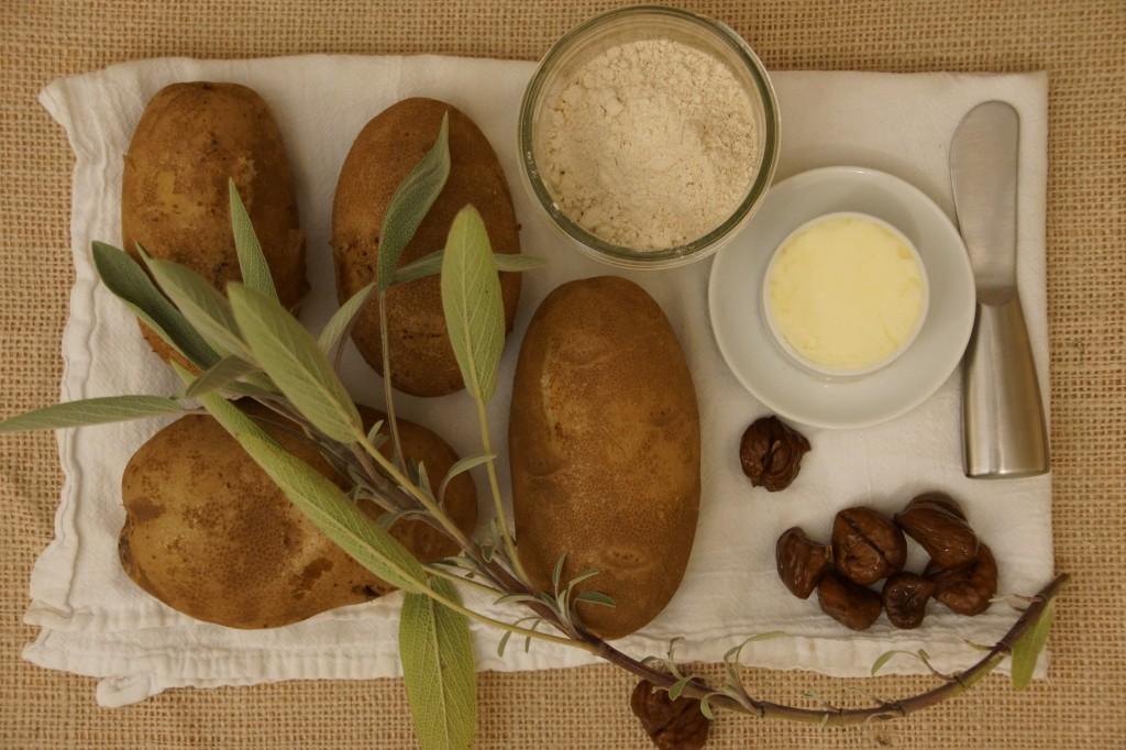 Chestnut & Potato Gnocchi with Sage Brown Butter