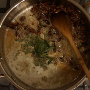 Chestnut & Sage Brown Butter Sauce