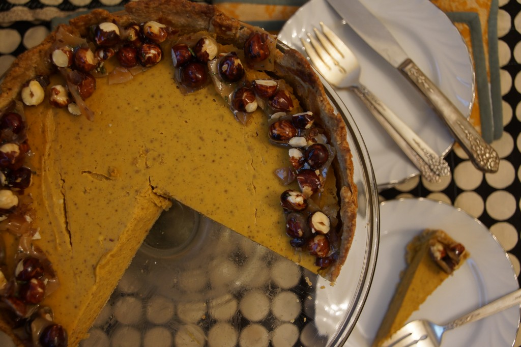 Pumpkin & Chèvre Cheesecake