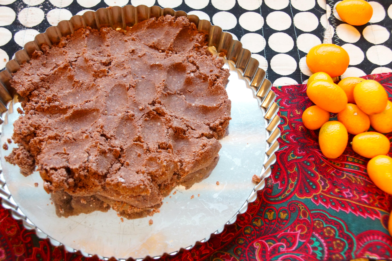 Spiced Chocolate Tart Crust | strawberryplum
