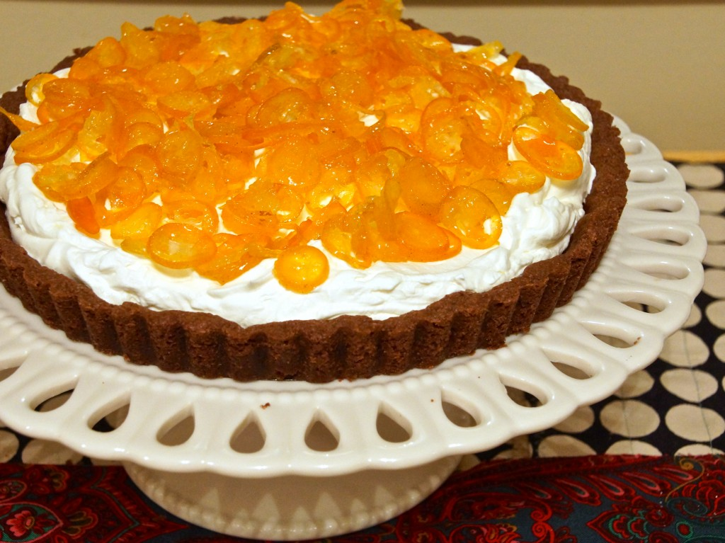 ... orange ricotta pillows with lillet kumquat compote key lime tart