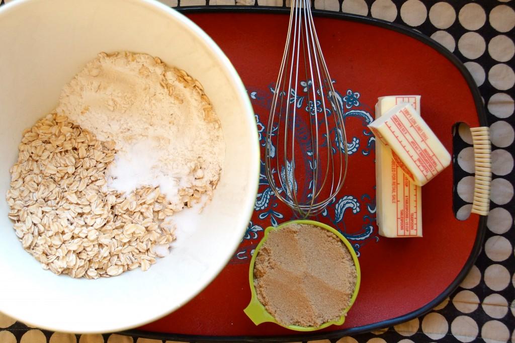 Salted Caramel & Espresso Crumb Bars