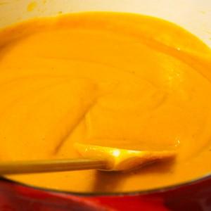Kabocha Squash & Sunchoke Soup