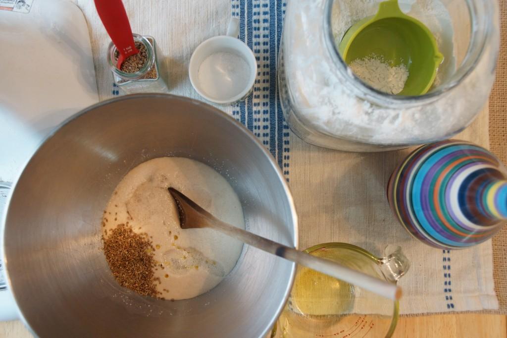 Anise Seed & Sea Salt Focaccia