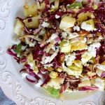 Radicchio, Avocado & Hearts of Palm Salad