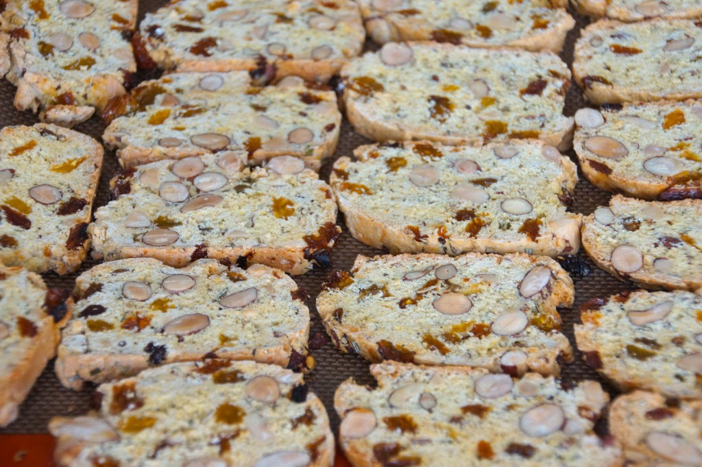 Black Pepper, Fennel & Rosemary Biscotti