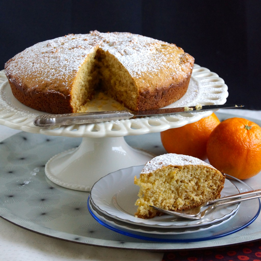 Cardamom, Orange & Honey Coffee Cake