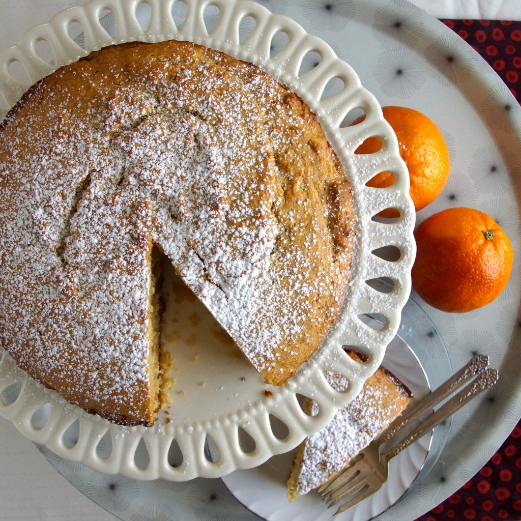 Cardamom, Orange & Honey Coffee Cake | strawberryplum