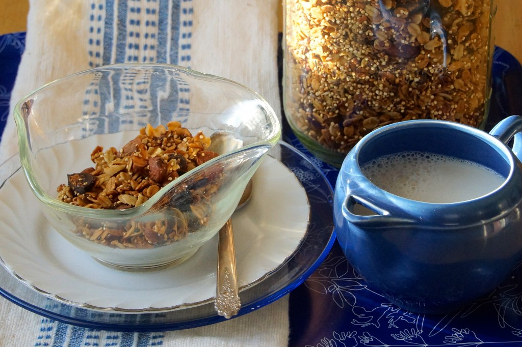 Almond, Fig & Hazelnut Granola