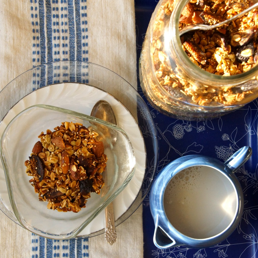 Fig, Almond & Hazelnut Granola