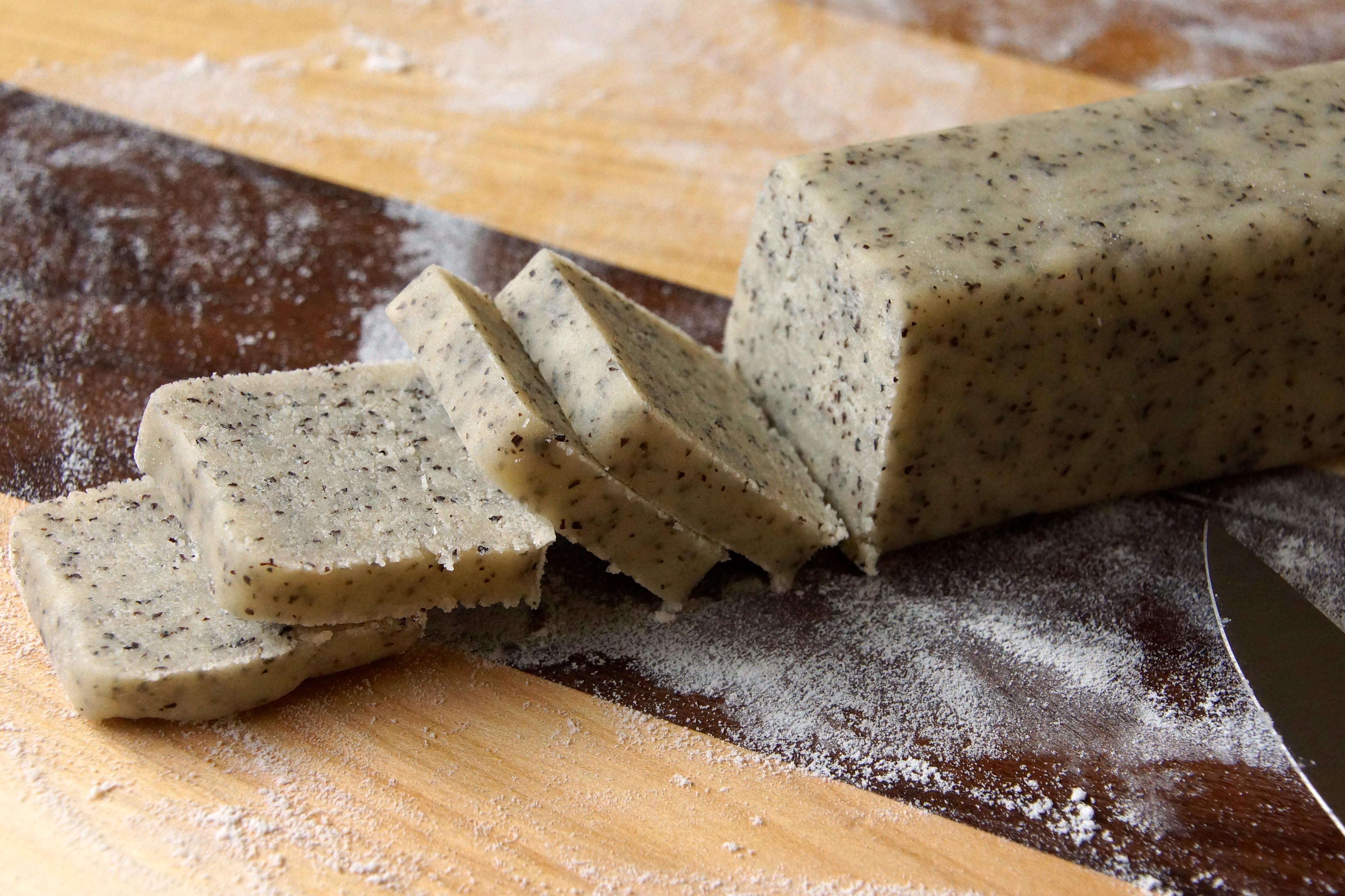Earl Grey Tea Shortbread Cookies | strawberryplum