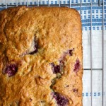 Raspberry-Rhubarb Quick Bread