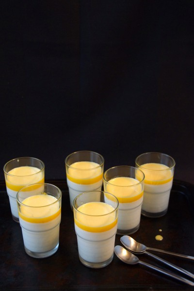 Vanilla-Orange Creamsicle Panna Cotta