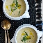 Potato, Leek & Artichoke Soup