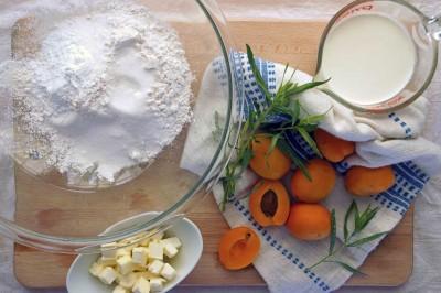 Apricot-Tarragon Scones