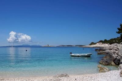 A Beach on Hvar, Croatia