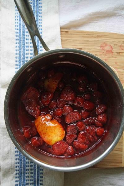 Balsamic Strawberry Conserve