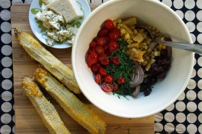 Corn & Grilled Onion Relish