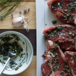 Lavender & Rosemary Rubbed Lamb Chops