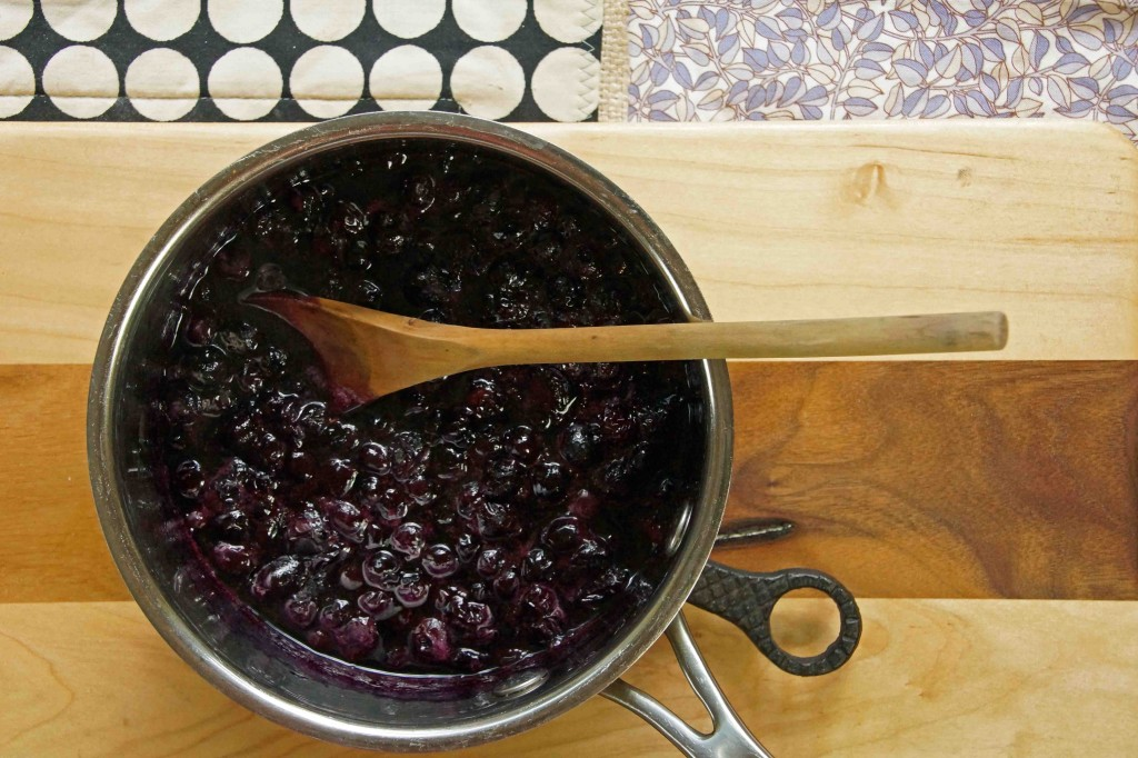 Maple-Blueberry Sauce
