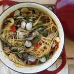 Summer Linguini & Clams