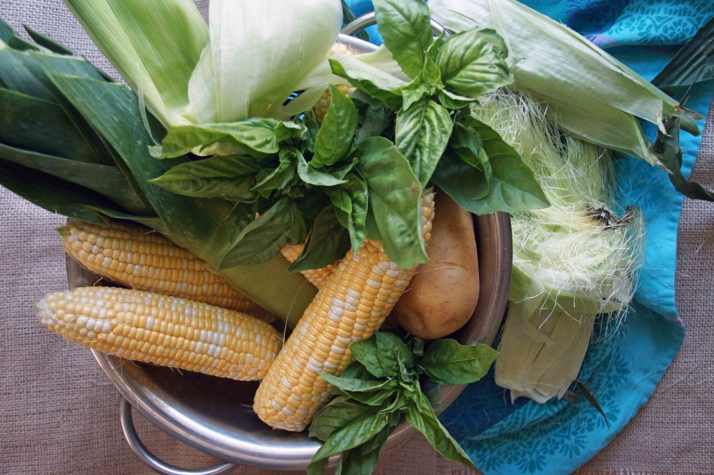 Sweet Corn Soup Ingredients