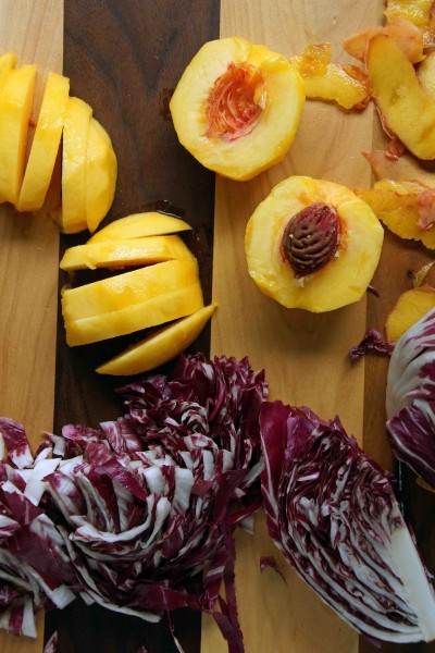 Peaches & Radicchio