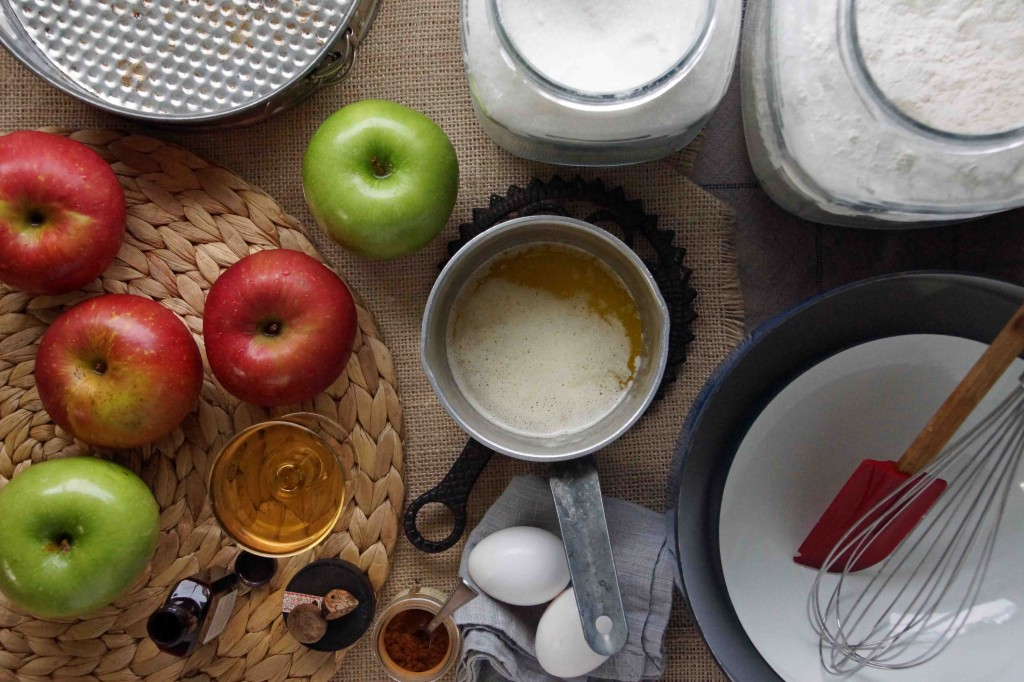 Apple Cake Ingredients
