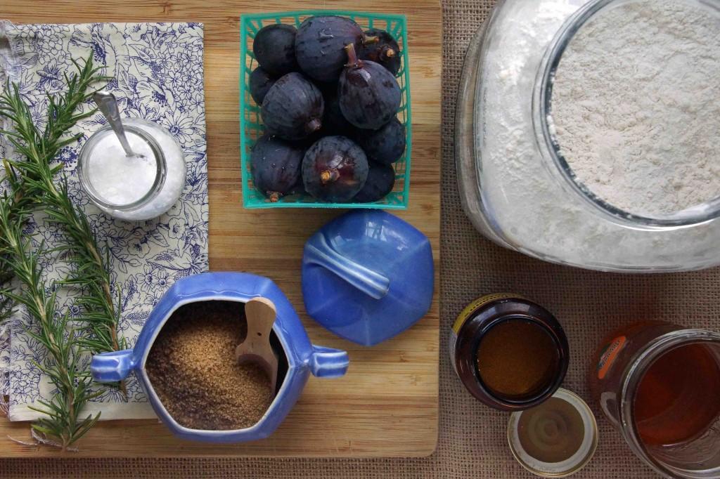 Fig & Rosemary Schiacciata Ingredients