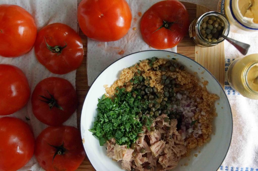 Quinoa, Tuna & Caper Filling