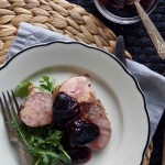 Roasted Pork Tenderloin with Plum Jam