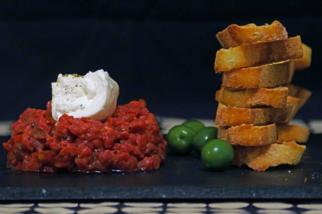 Steak Tartare with Buratta