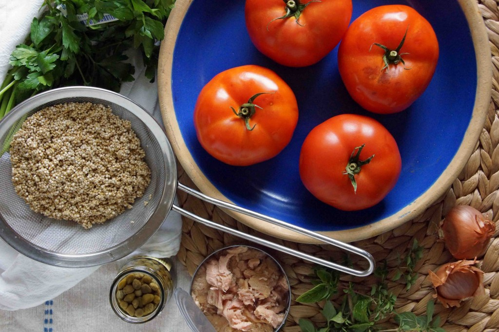 Stuffed Tomato Ingredients
