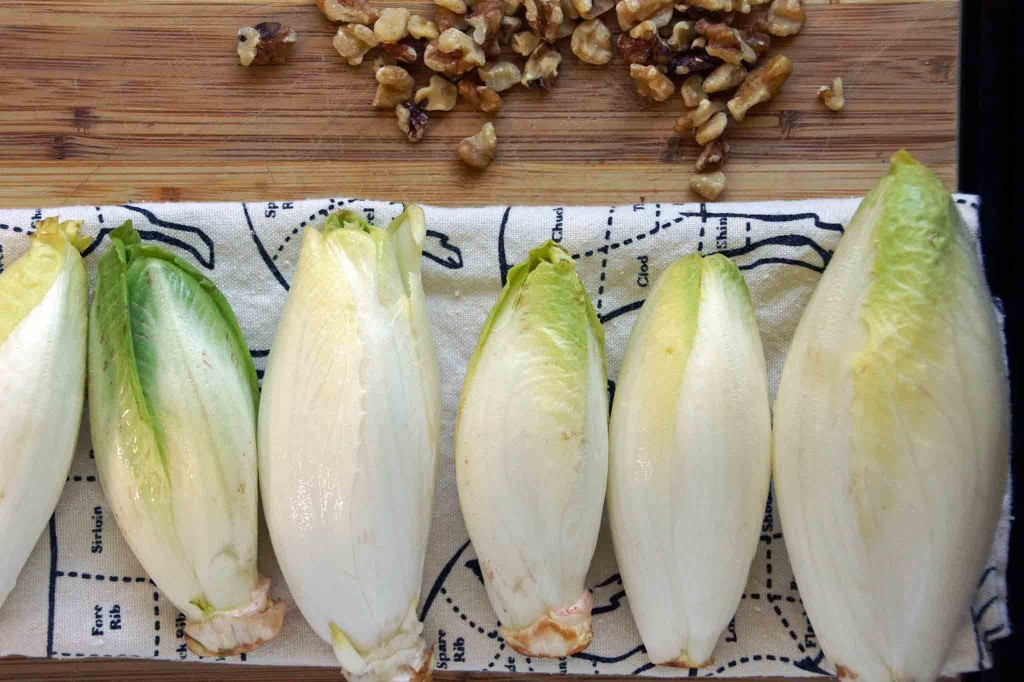 Belgian Endive and Walnuts