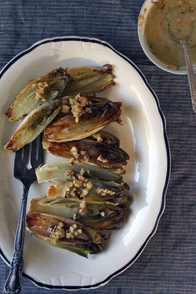 Roasted Belgian Endive with Walnut Vinaigrette 2