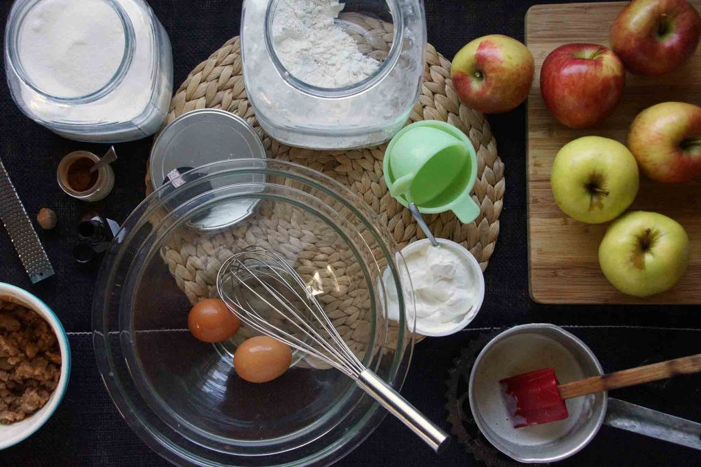 Spiced Apple Cake Ingredients