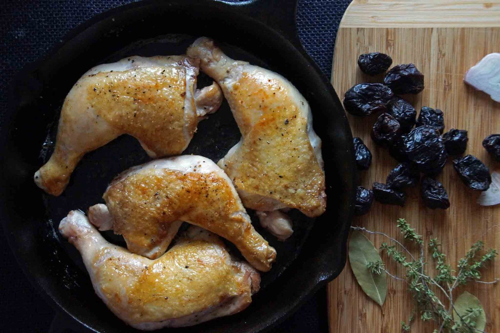 Crispy-Skinned Chicken