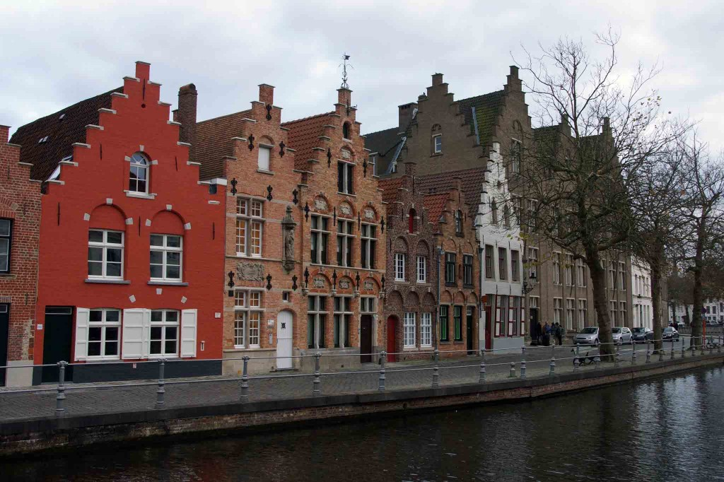 Rowhouses in Bruges