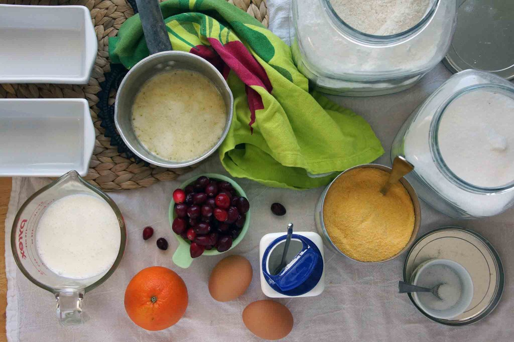 Cranberry Orange Quick Bread Ingredients