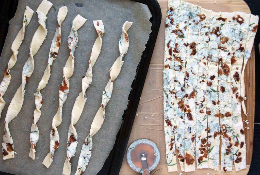 Forming Cheese Straws