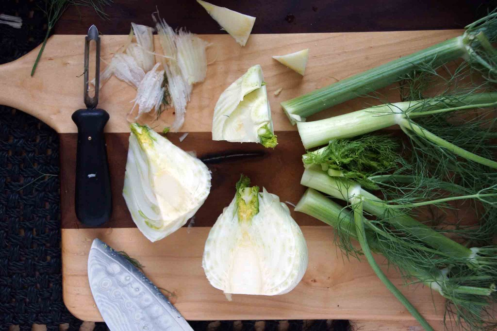 How to Prepare Fennel for a Salad