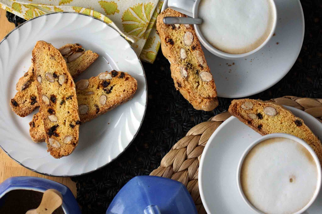 Currant, Almond & Citrus Biscotti