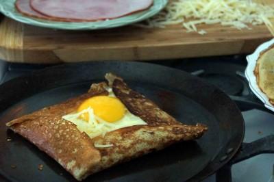 How to Make a Crepe Compléte