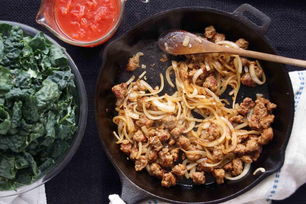 Italian Sausage & Onions