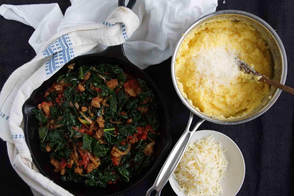 Polenta & Sauteed Kale