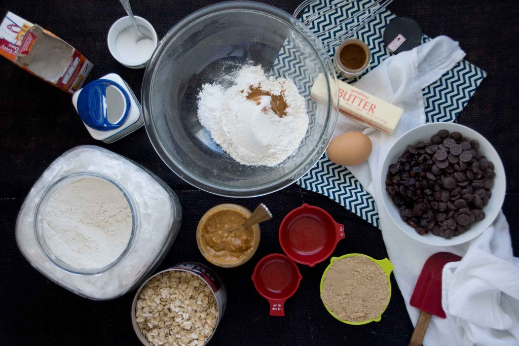 Everything Cookie Ingredients