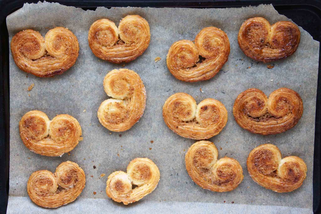 Orange, Cardamom & Ginger Palmiers
