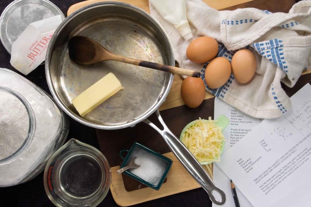 Parisian Gnocchi Ingredients