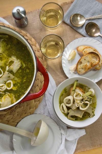 Artichoke & Calamari Salad
