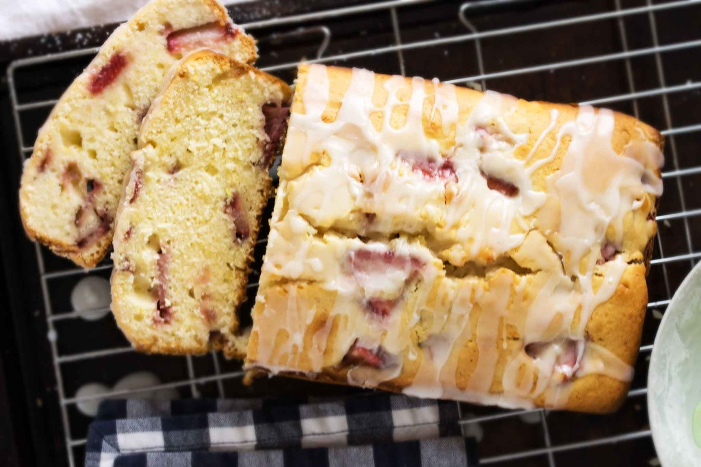 Roasted Strawberry Buttermilk Cake Recipe — Dishmaps